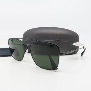 SPR 53V 1AB-1IO Prada Black/ Green Sunglasses